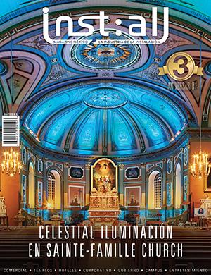 reportaje revista install instalacion sistema coax sound auditorio palabra de vida guadalajara jal. mx.